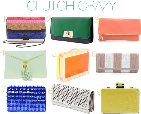Fabulous Friday: Clutch Crazy