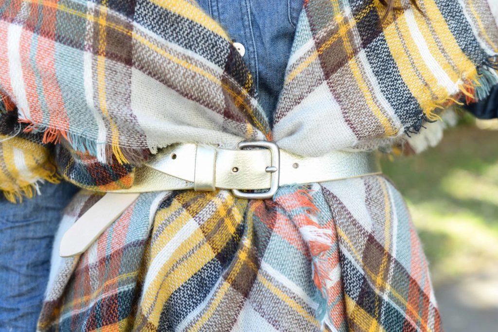 Belted Blanket Scarf