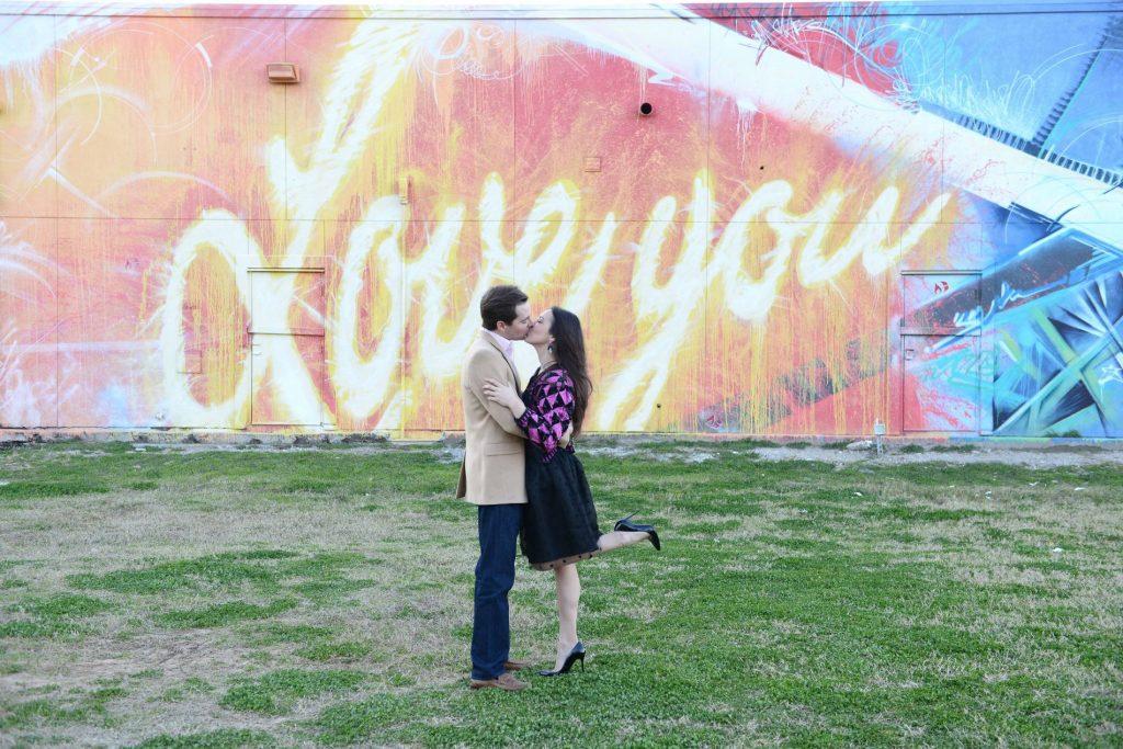 Love you street art Houston
