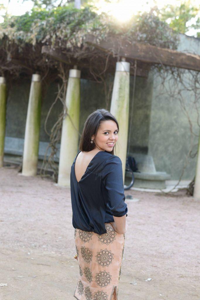 Kora Rae Pardon Moi backless top