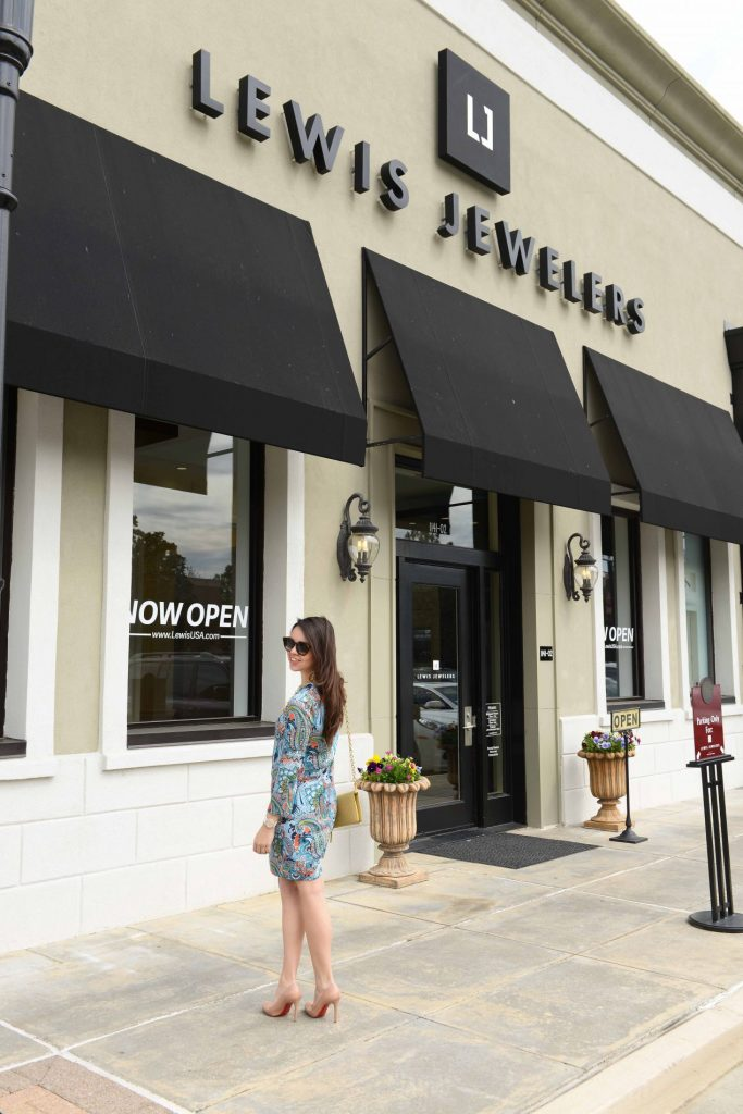 Dress up at Lewis Jewelers Uptown Park Houston