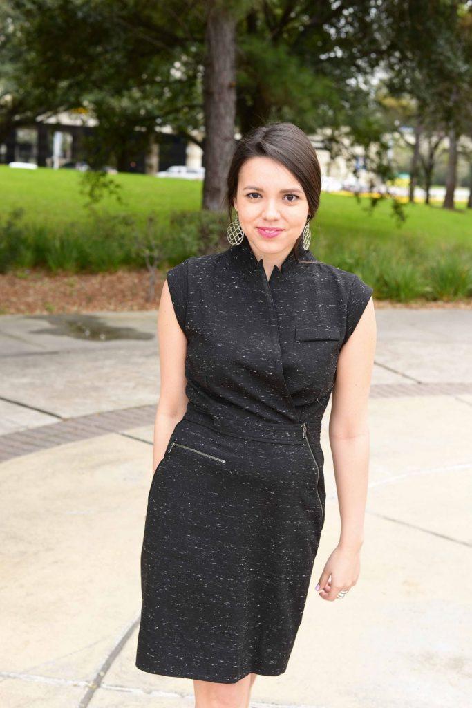 Modern Little Black Dress Adored By Alex