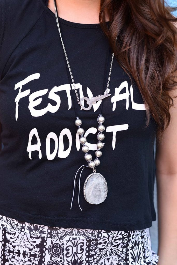 Festival Addict tee