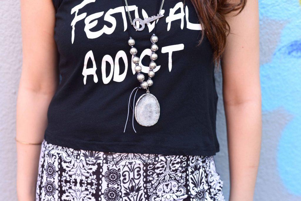 Mink Pink Festival Addict shirt