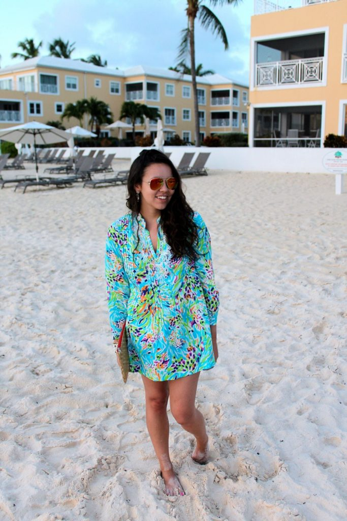 Lilly Pulitzer beaded tunic