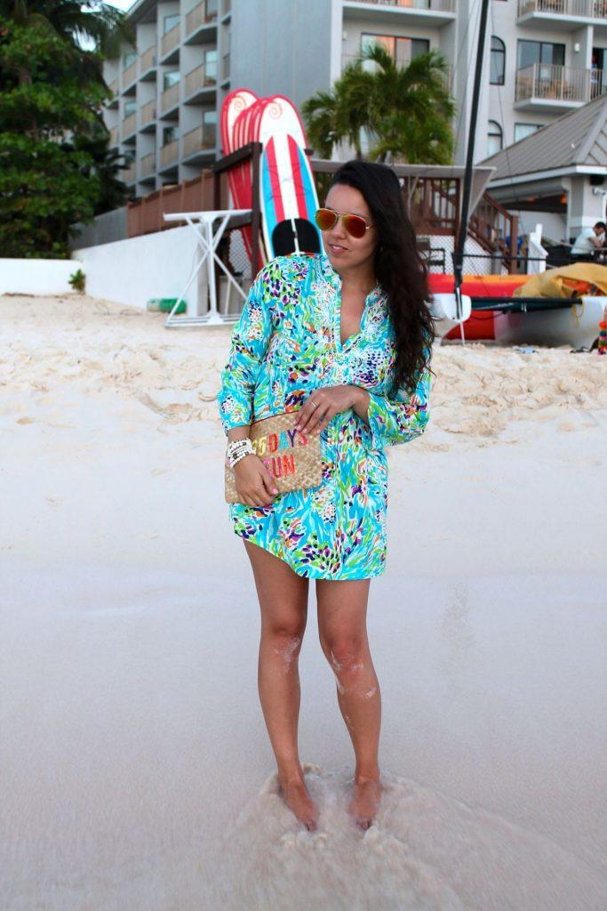 Summer on Seven Mile Beach