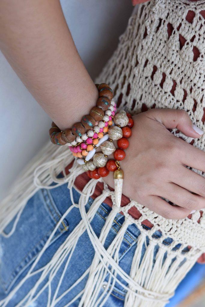 Handmade 31 Bits bracelets