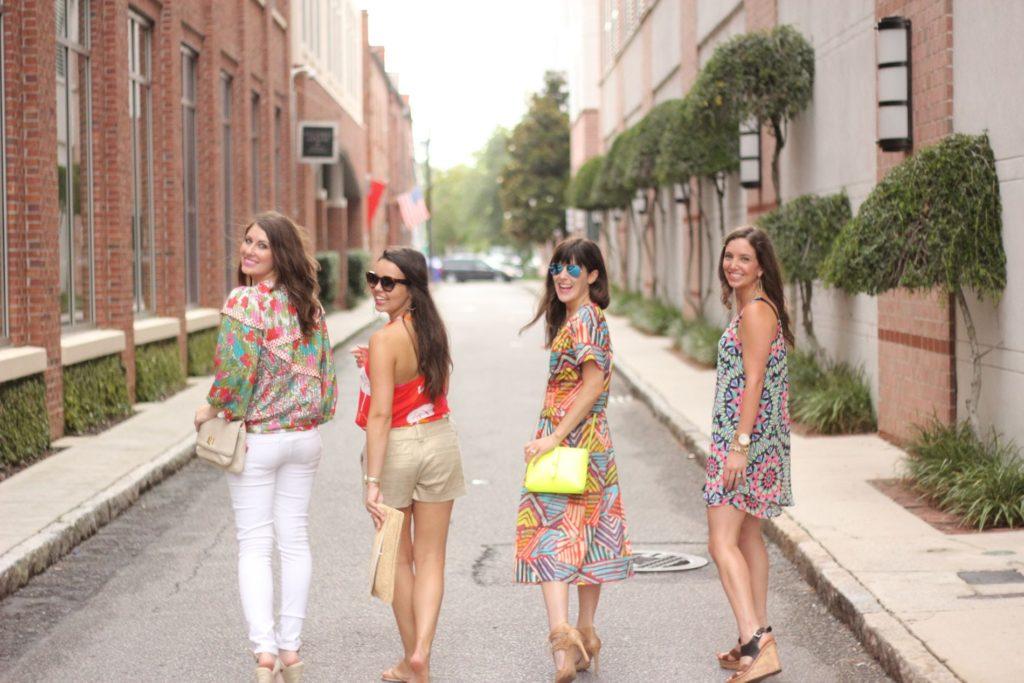 Texas Gals Take Charleston
