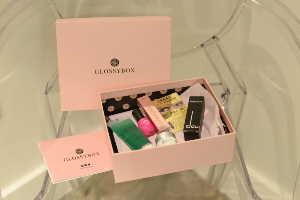 GLOSSYBOX // What's inside