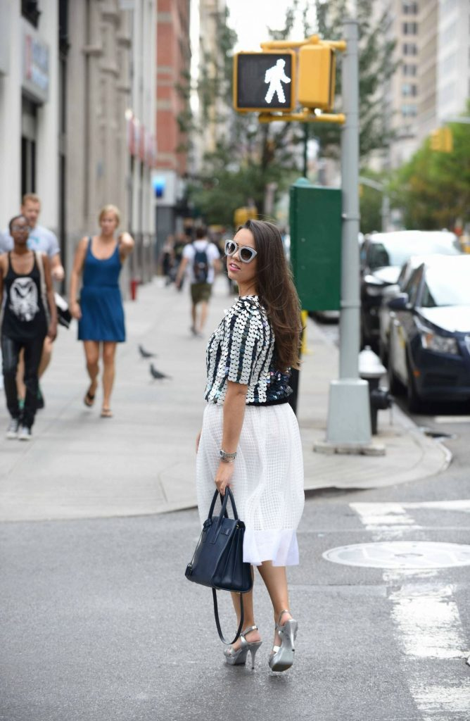 NYFW Street Style - Alexandra Carreno