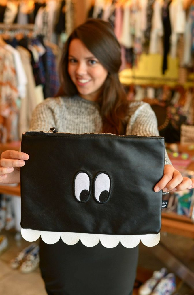 Lazy Oaf eye clutch