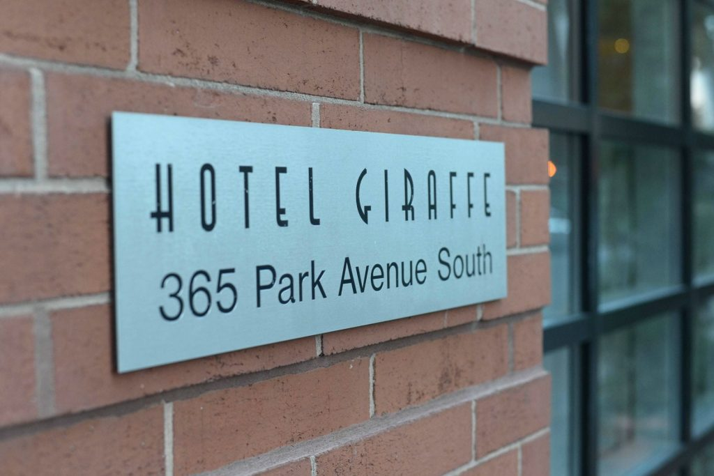 Hotel Giraffe - New York City - Madison Avenue