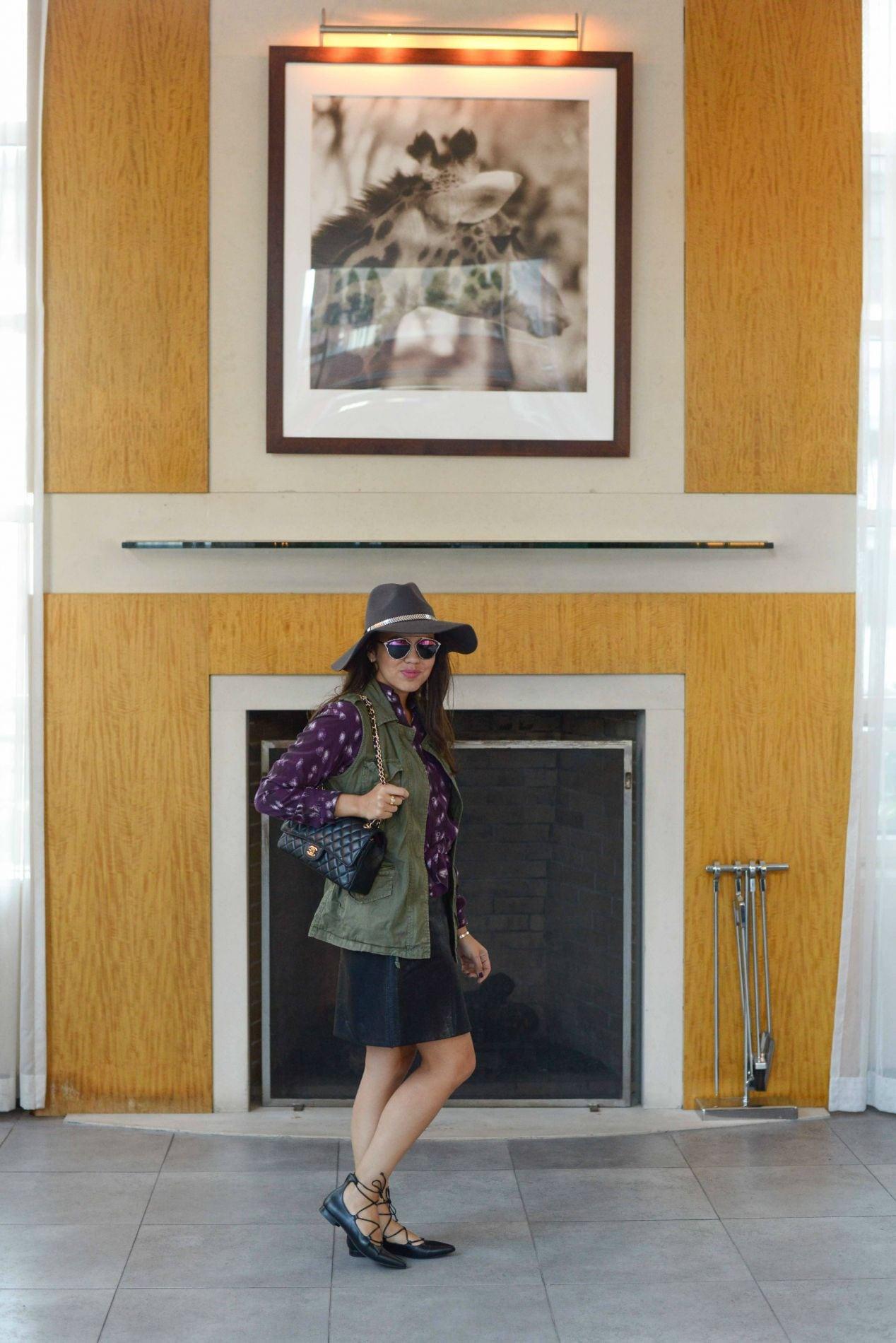 NYC Street Style at Hotel Giraffe