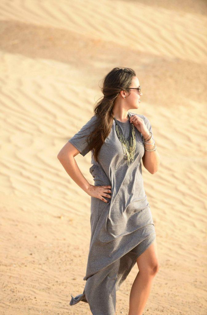 Slate Grey Maxi Dress