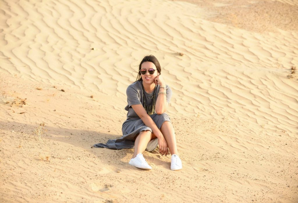 Sitting pretty in the Dubai Desert