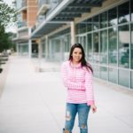 Candy Stripe Pullover + Giveaway