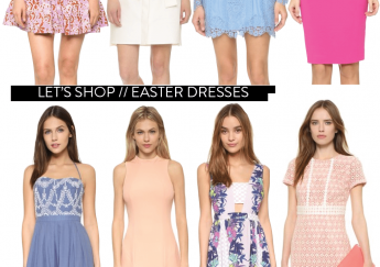 Easter and spring dresses