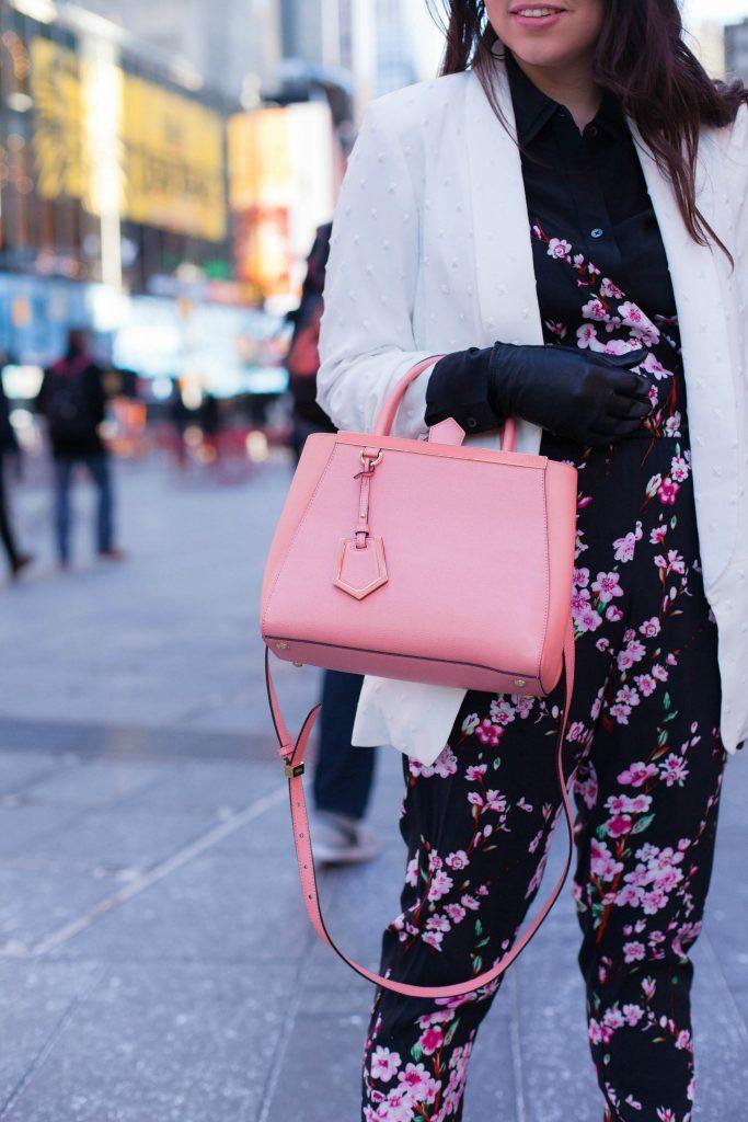 pink Fendi 2jours mini