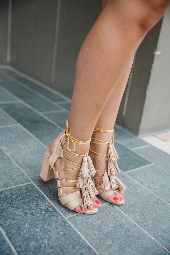 Loeffler Randall Luz tassel heels
