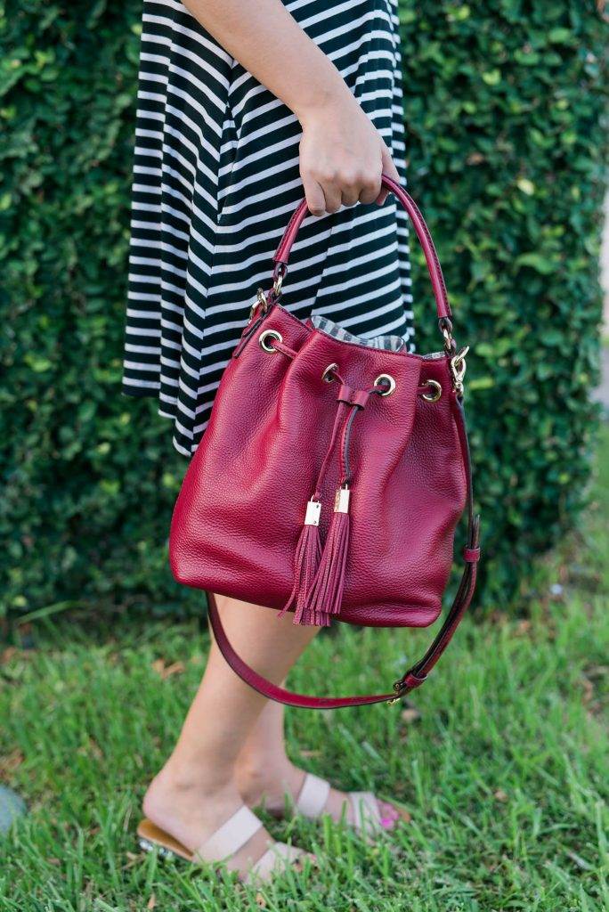 drawstring bucket bag - Henri Bendel