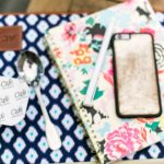 Cafe Breaks pudding, Bando Notebook, GiGi New York iPhone case