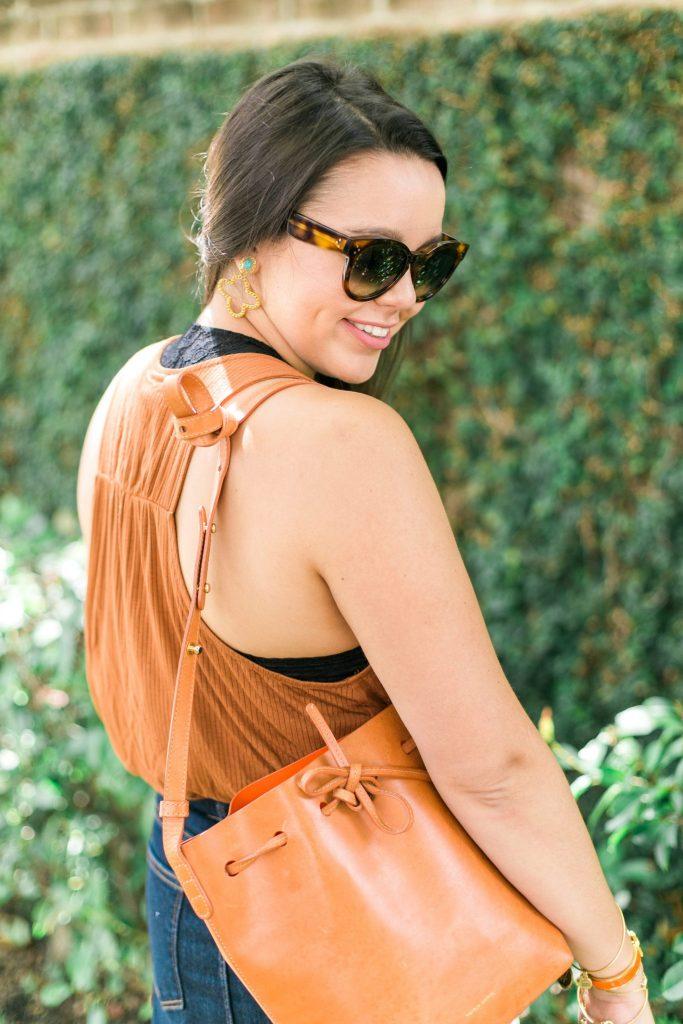 Julie Vos Sienna statement earrings
