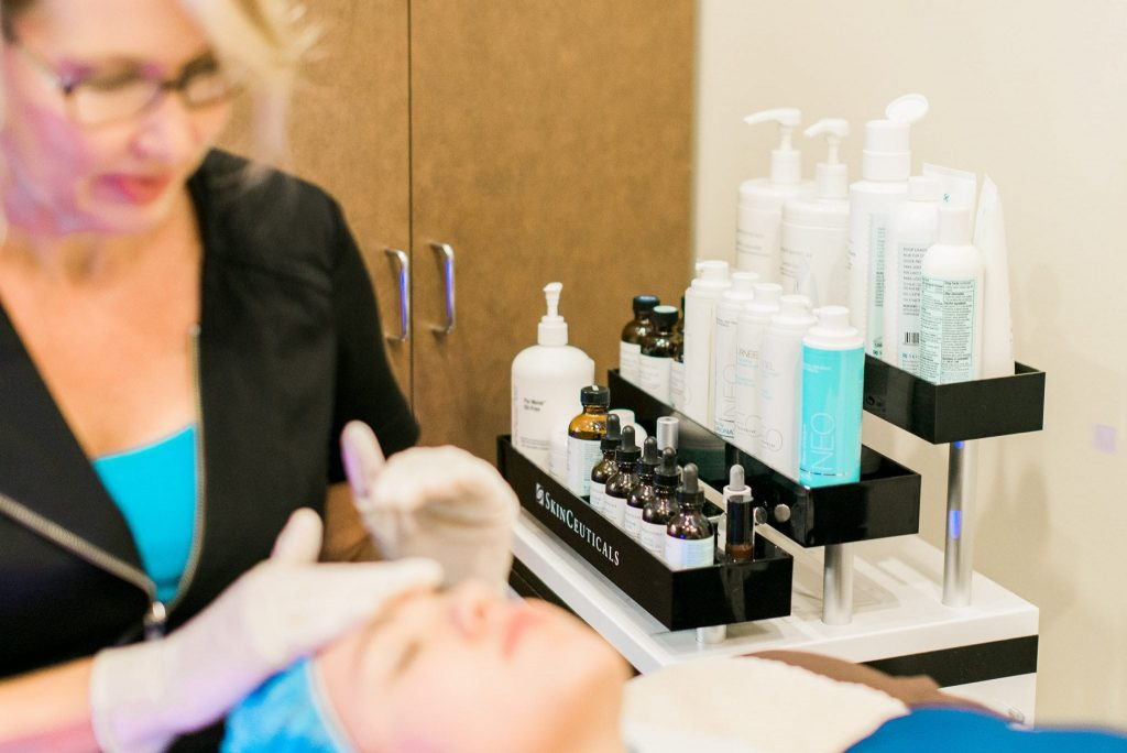 Skinceuticals products for Hydrafacial