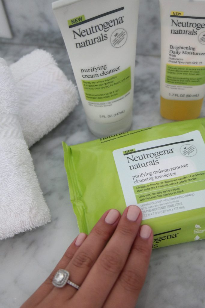 Review on Neutrogena naturals skincare