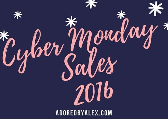 Let's Shop: Cyber Monday Sales 2016