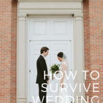 How to survive planning a wedding