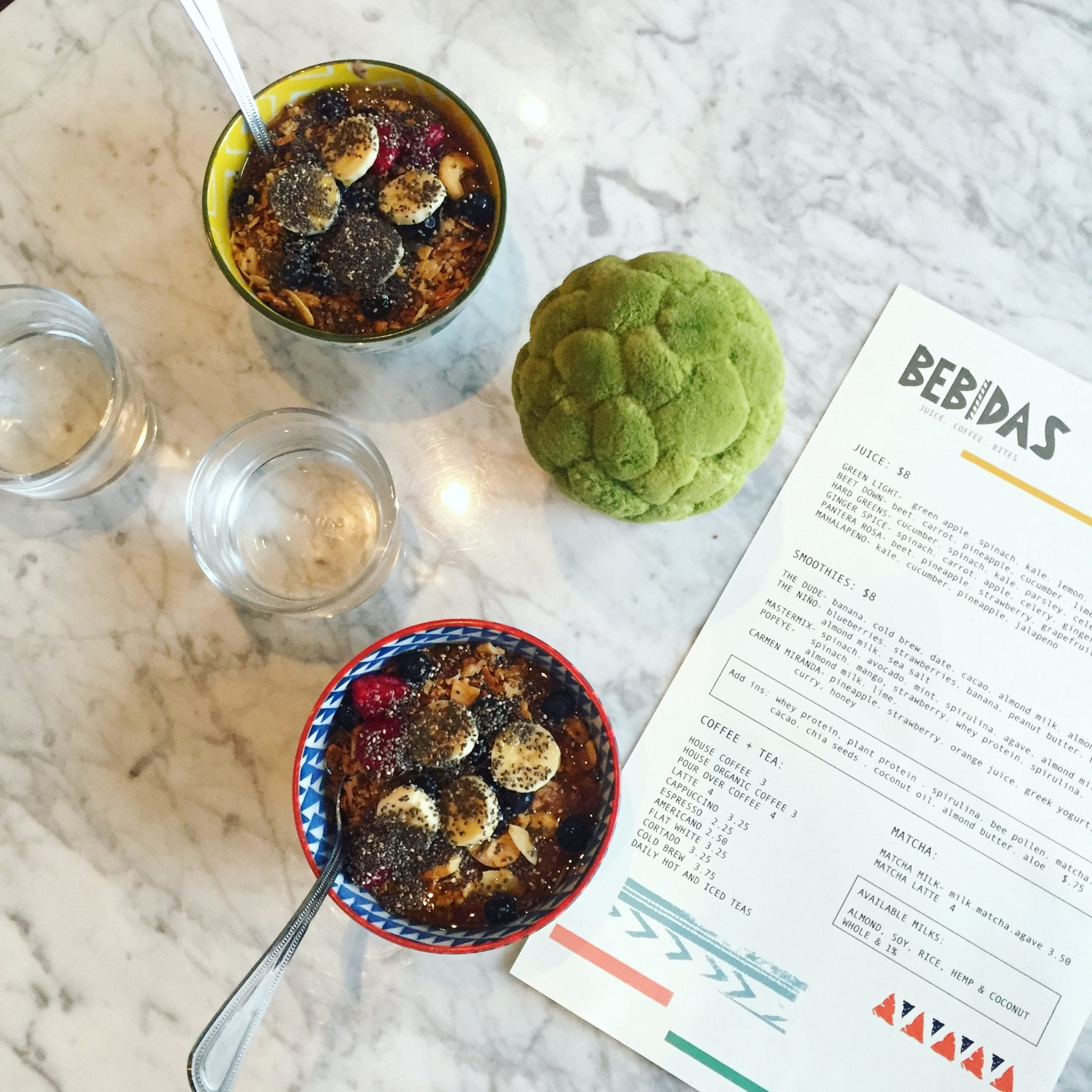 Acai Bowls - Bebidas Houston eats
