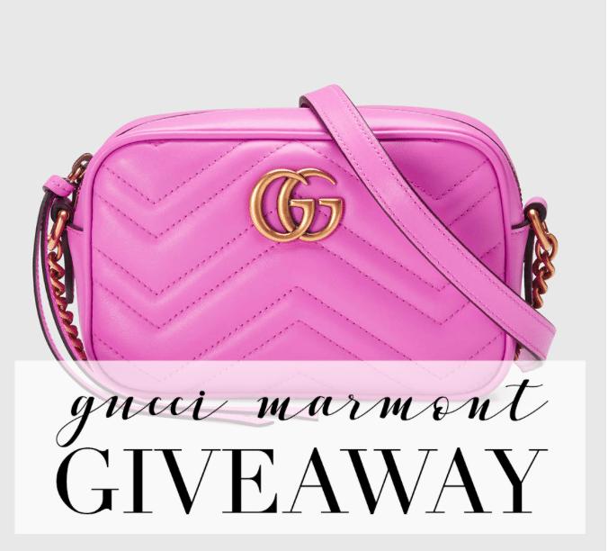 Gucci bag giveaway