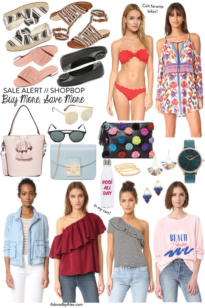 Shopbop spring sale event picks