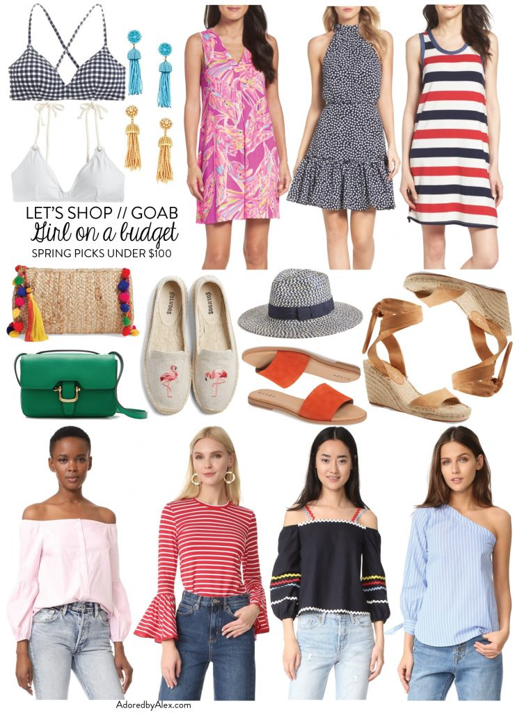 Let's Shop: Girl on a Budget Under $100