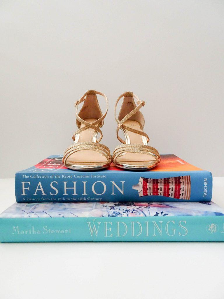 Badgley Mischka Bonanza Strappy Wedges | Bridal shoes | Comfortable wedding shoes