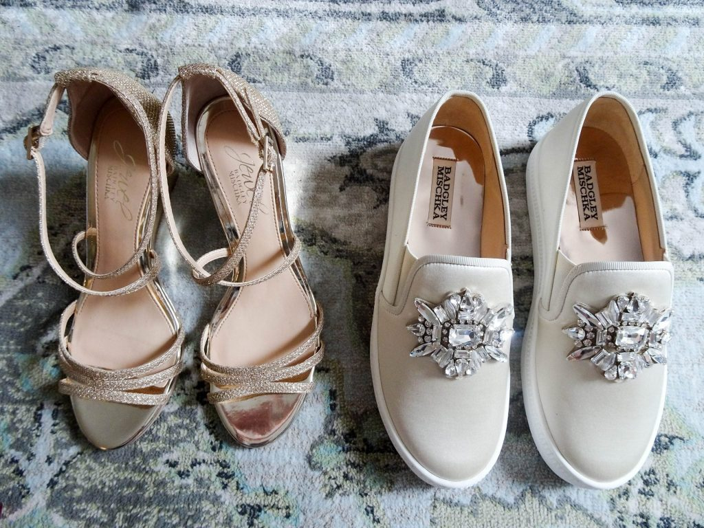 Badgley Mischka bridal footwear | shoes for the bride | wedding shoes