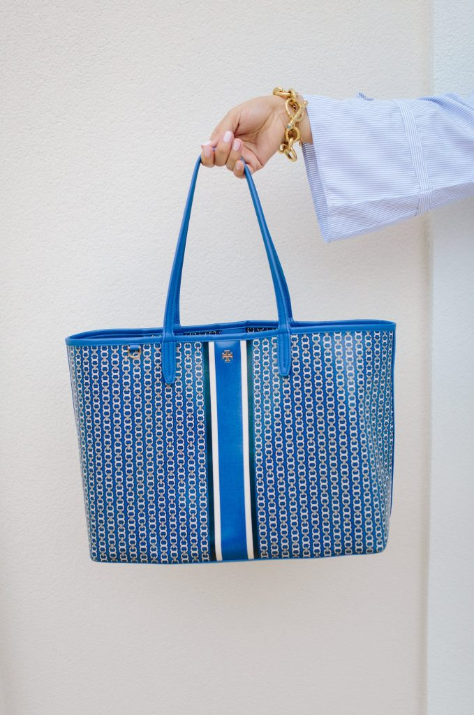 Tory Burch Gemini Link tote | totes under $200 | budget-friendly purse