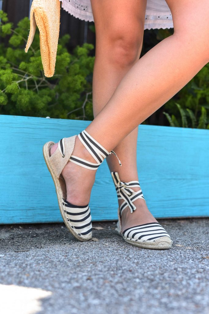 Soludos lace-up espadrilles | Summer espadrilles | Espadrille trend