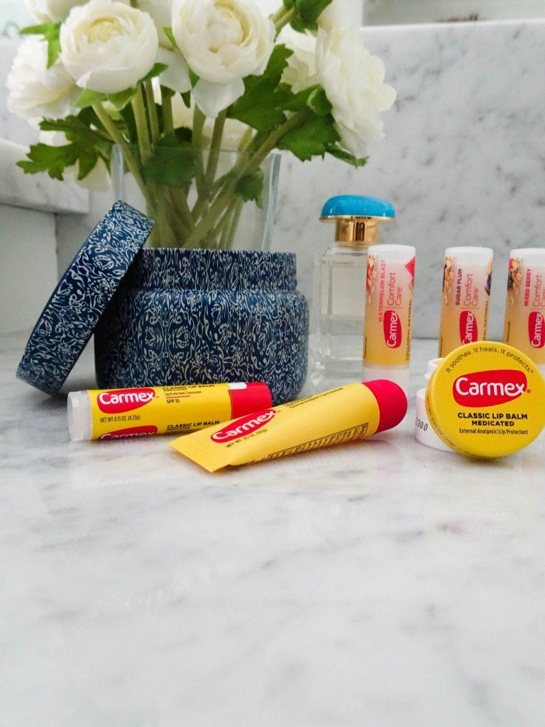 Favorite beauty product | drugstore beauty | Carmex lip balm