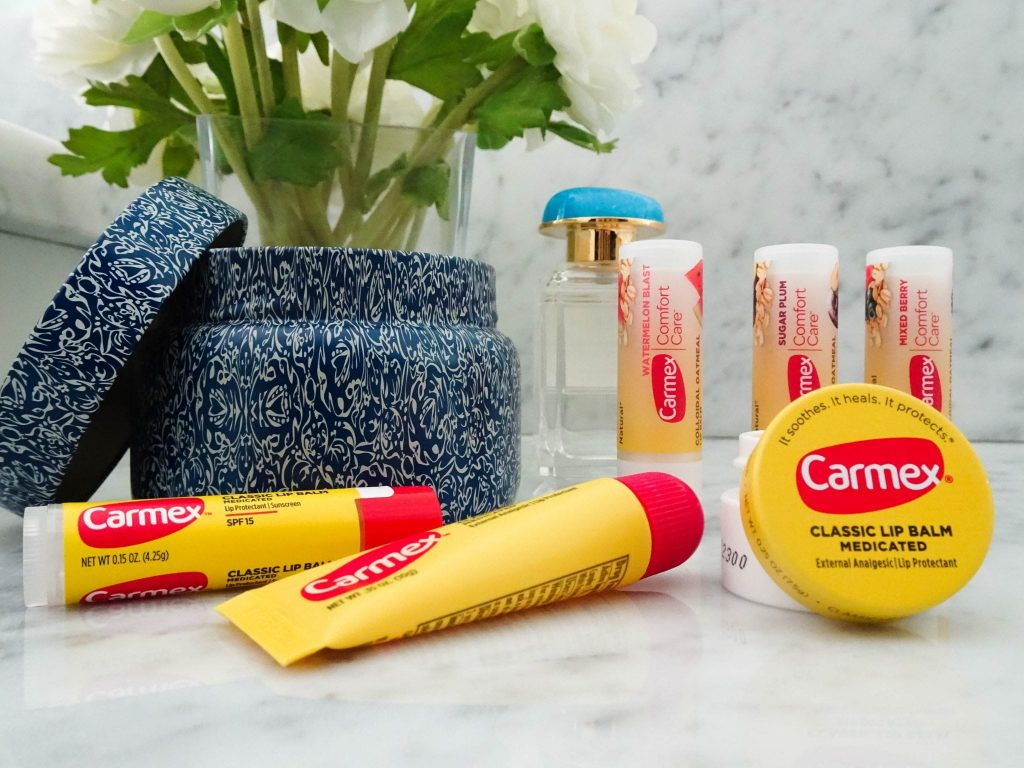Carmex lip tin | drugstore lip balm | summer lip care