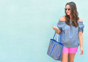 Summer Chambray and Shorts