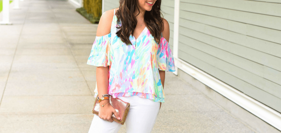 Lilly Pulitzer Bellamie Top - Adored by Alex