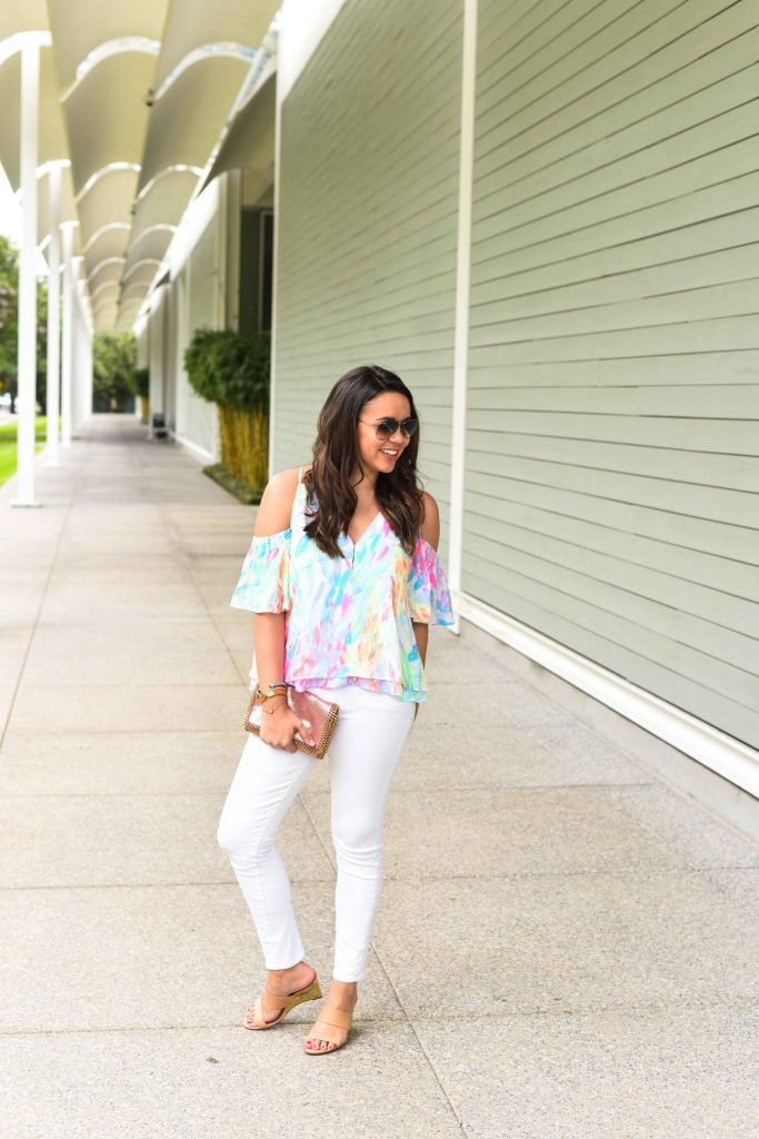 Lilly Pulitzer Bellamie top | Lilly Pulitzer outfit ideas