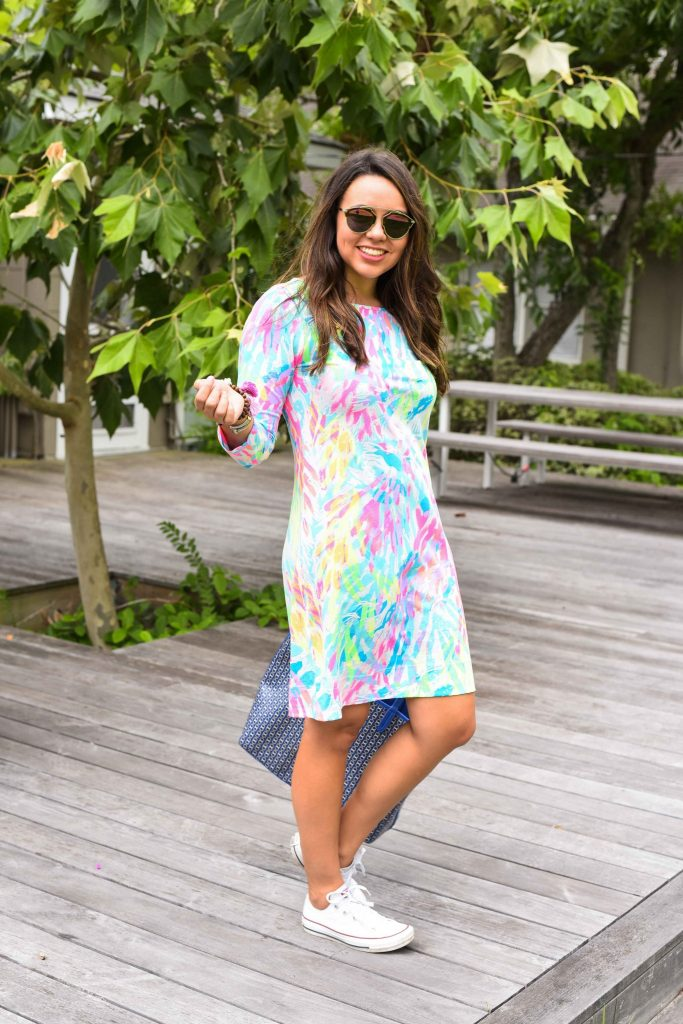 Lilly Pulitzer Marlowe Shift Dress | Summer in Lilly | Cotton T-shirt dress for summer