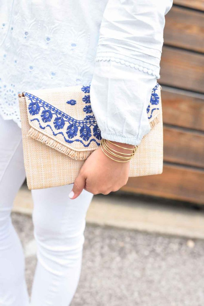 Stella & Dot gold bangle cuff bracelet