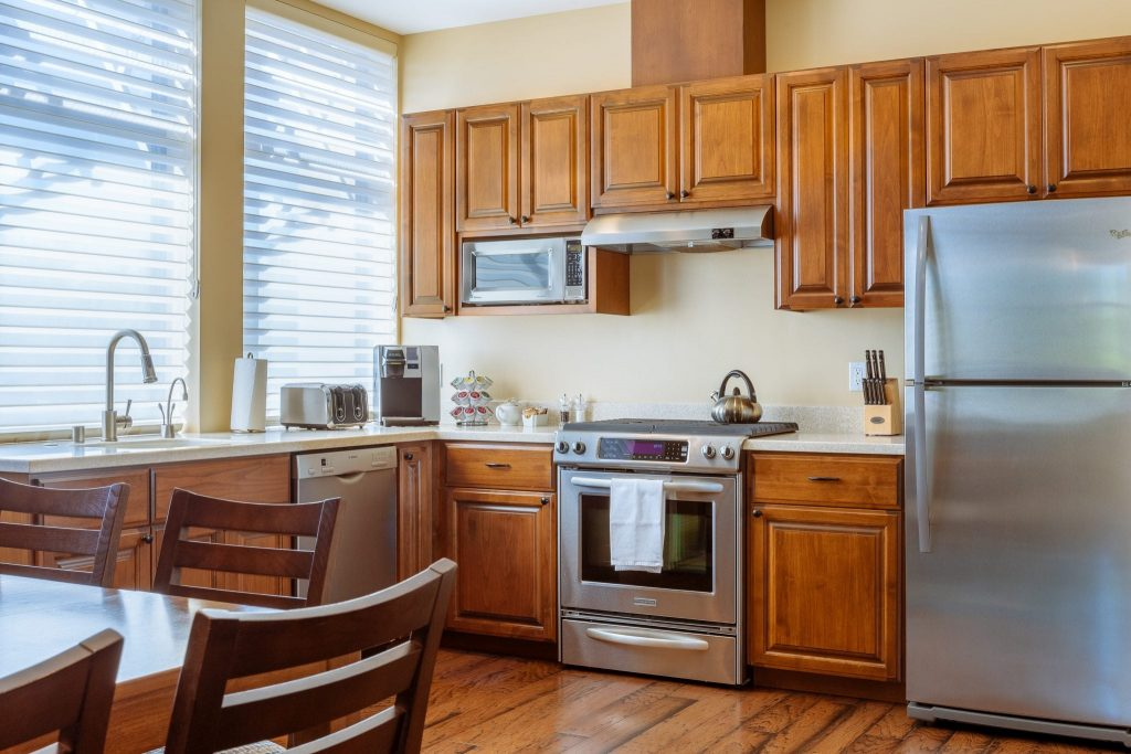 In-room kitchen, 235 Suites Healdsburg