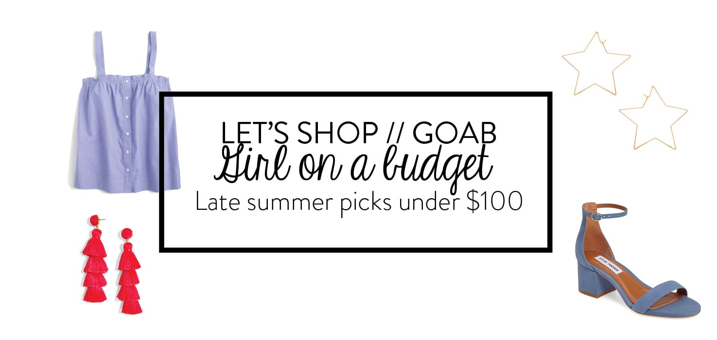 Late Summer Under $100 buys - Adored by Alex