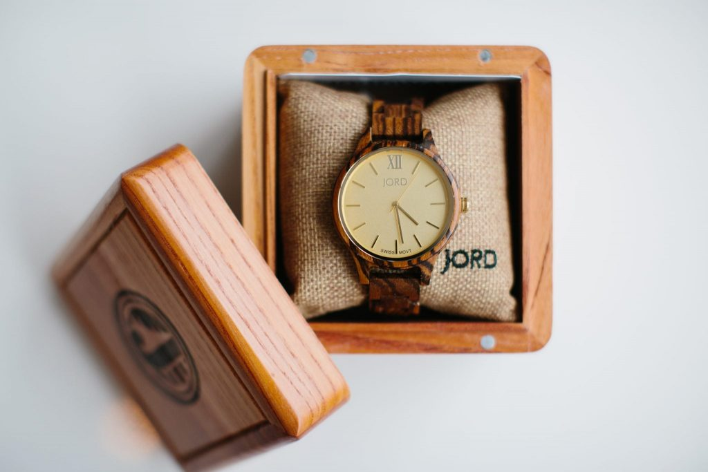 Jord Unique watch | Wooden watch