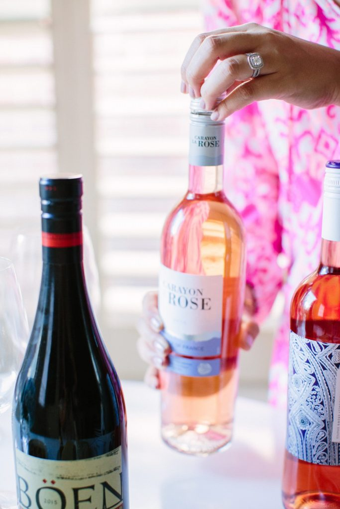 summer water, rosé | What rosé to buy at Trader Joe's
