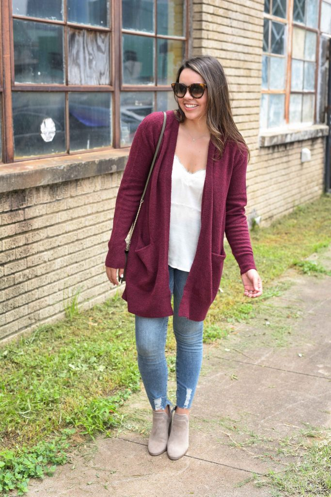 Madewell Ryder cardigan | best cardigan for fall